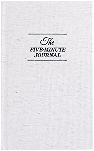 Five-Minute Journal for gratitude journal ideas