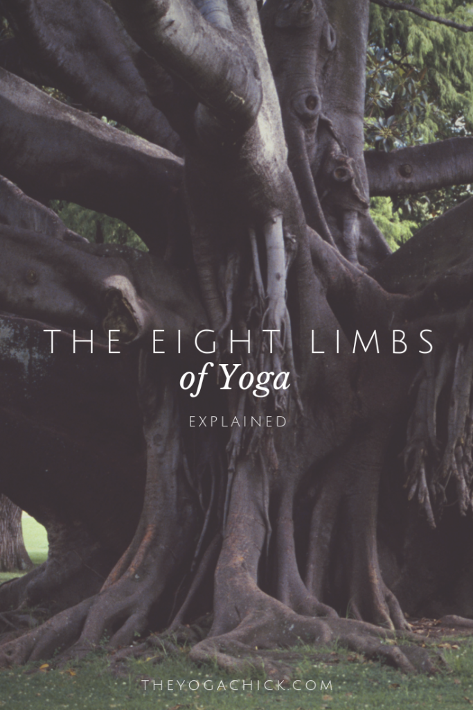 The eight limbs of yoga explained. | TheYogaChick