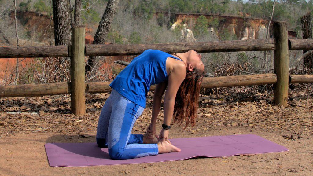 Camel Pose | The Yoga Chick