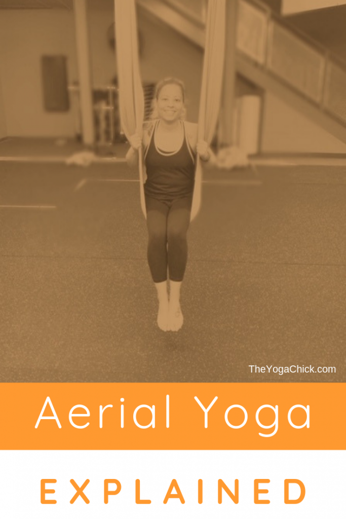 Aerial Yoga Explained | TheYogaChick.com