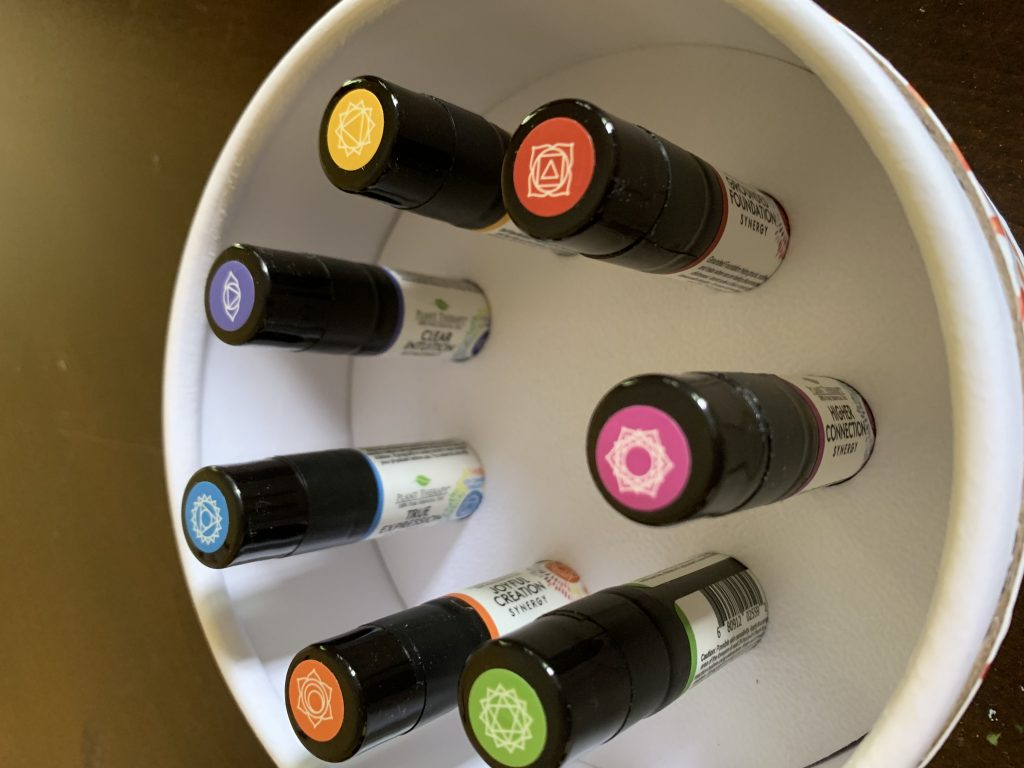 Essential Oil Chakra Synergy Kit | TheYogaChick.com