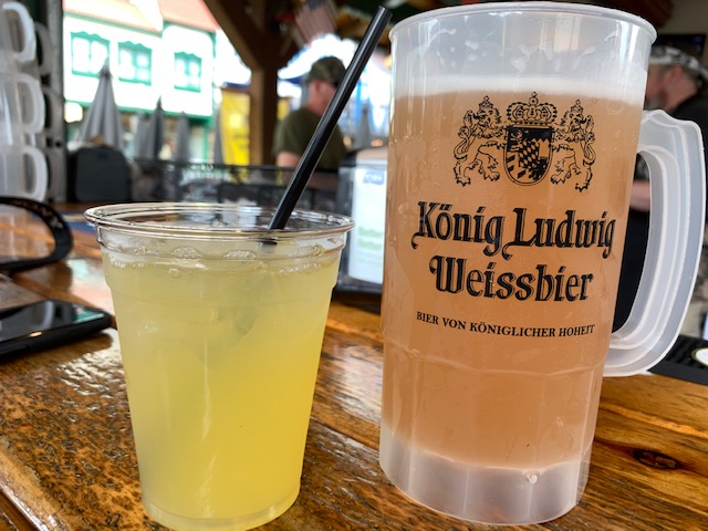 King Ludwig Bier Garden with collectible cup