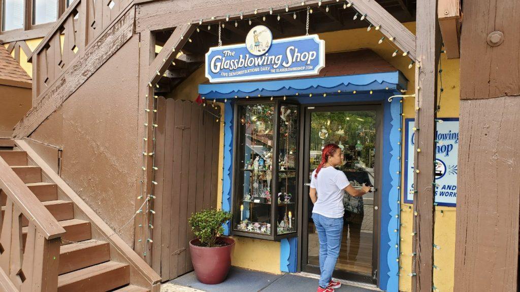The Glassblowing Shop in Helen, Georgia