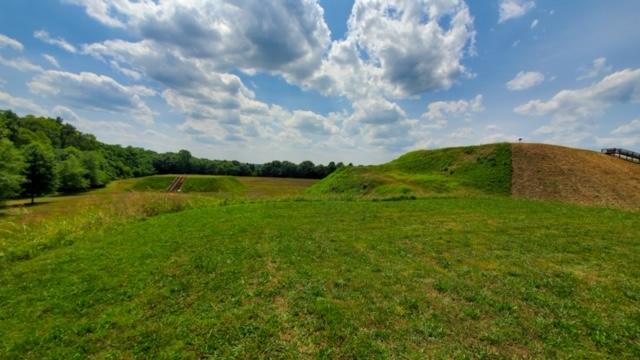 Mound A and Mound B