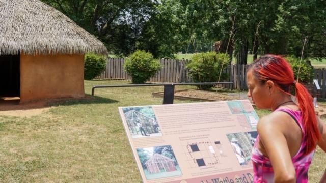 Replica Indian Mud Hut at Etowah