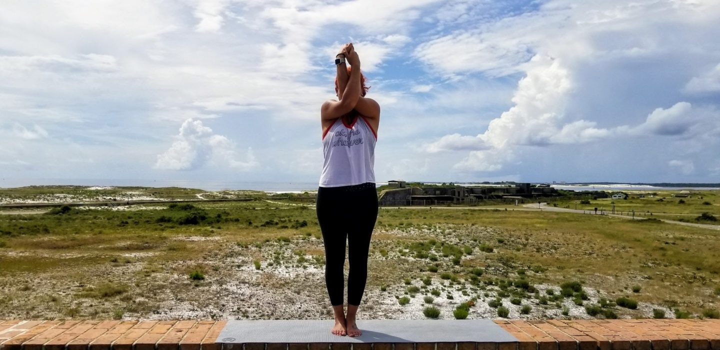 Fort Pickens Visit | Yoga Pictures| Pensacola Beach, Florida