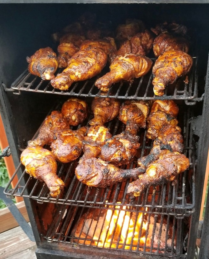 smoker-chicken