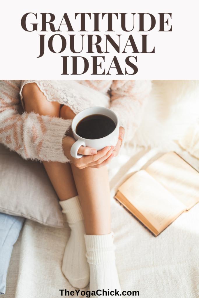 Gratitude Journal Ideas | TheYogaChick.com