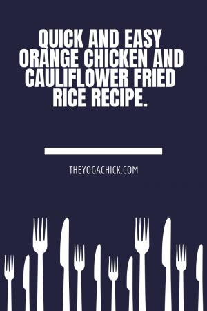 Orange Chicken Recipe | TheYogaChick.com
