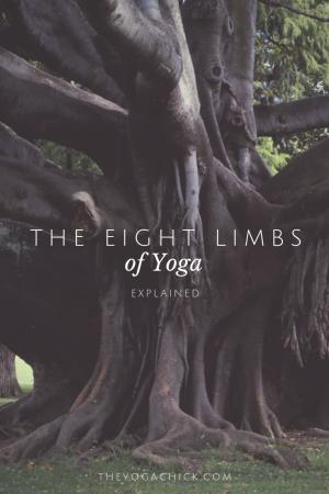 The Eight Limbs of Yoga | TheYogaChick.com
