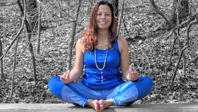 Concentrating while Practicing Yoga | TheYogaChick.com